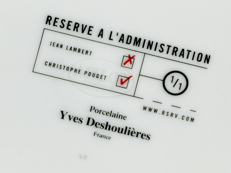 Réservé à l'administration
